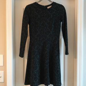 Ann Taylor Loft Print A-line Dress.  EUC